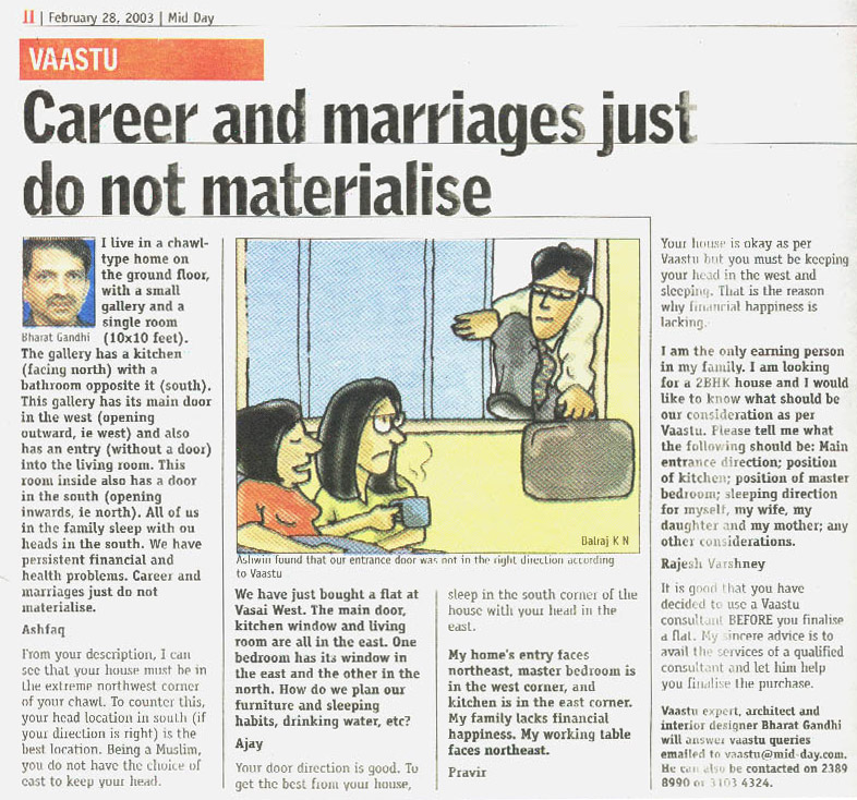 Career and Marriages Just Do Not Materialise