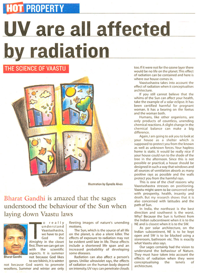 UV Are all Affected by Radiation