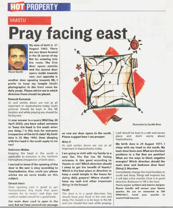 Pray Facing East