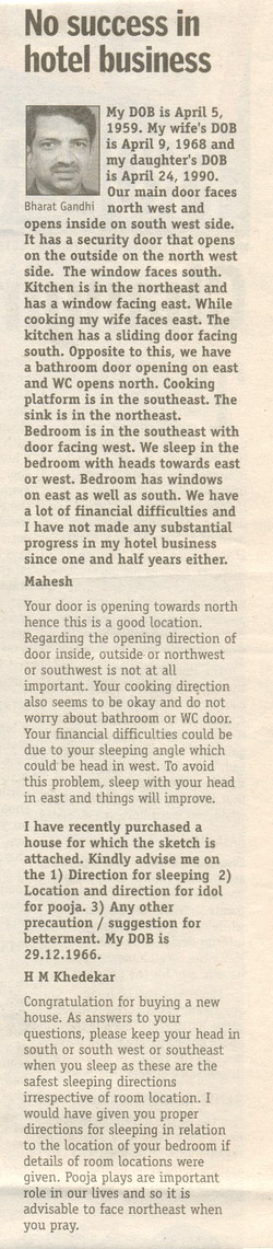 No Success in Hotel Business